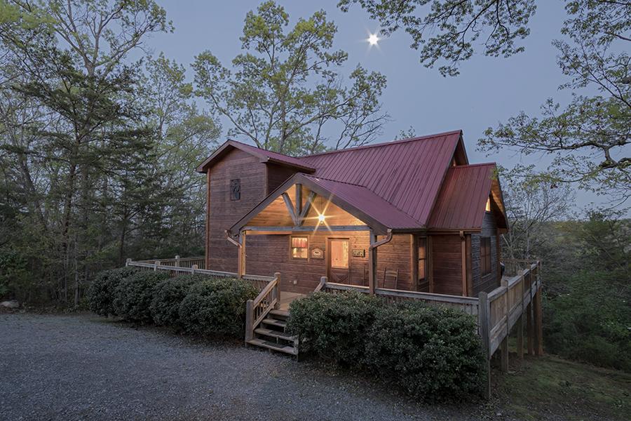 Moose Ridge - Mountain View Cabin Rental Blue Ridge, GA