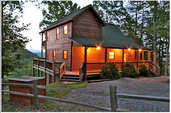 Mountain Escape - Cabin Rental in Blue Ridge, GA with